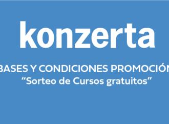 """""""Sorteo de Cursos gratuitos"""" – Bases y Condiciones"""